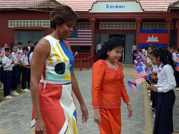 CAMBODIA-US-DIPLOMACY-EDUCATION-WOMEN-OBAMA