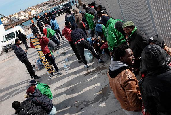 ITALY-REFUGEES-LIBYA-IMMIGRATION