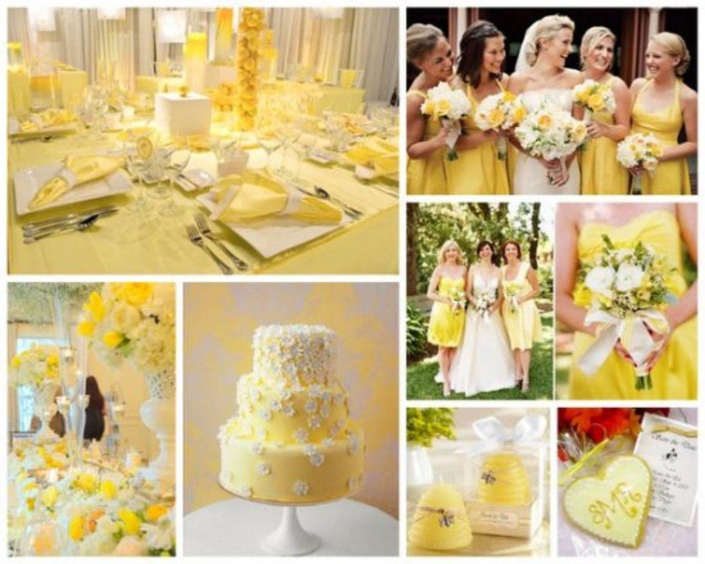 Eccezionale Foto gallery: spunti e idee per un matrimonio in giallo RC23