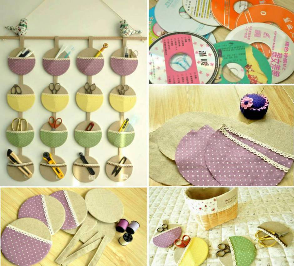 DIY-Old-CD-Small-Item-Organizer