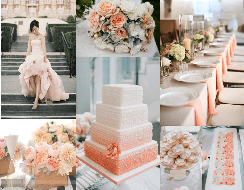 Ben noto Foto gallery: spunti e idee per un matrimonio rosa pesca JY63