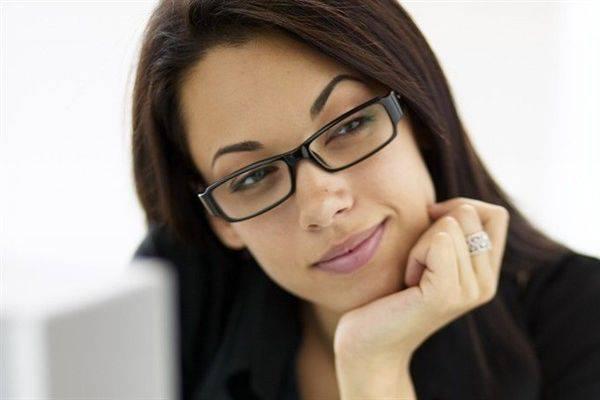 donna occhiali