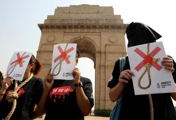 Activists of Amnesty International India
