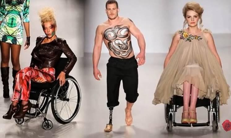 sfilata disabili