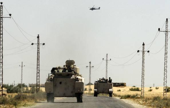 EGYPT-PALESTINIAN-UNREST-SINAI-KIDNAP