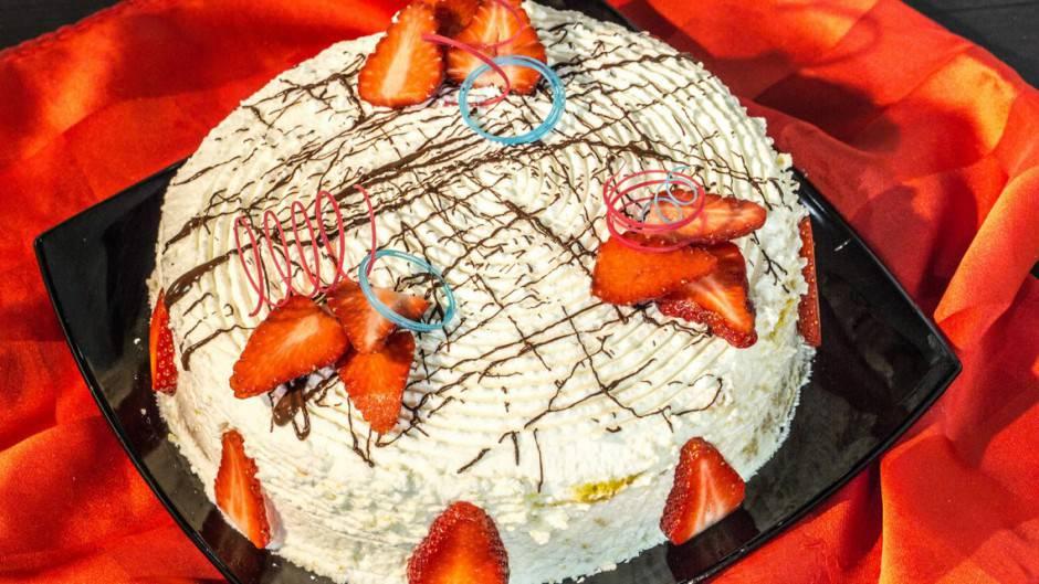 torta-soffice-fragole