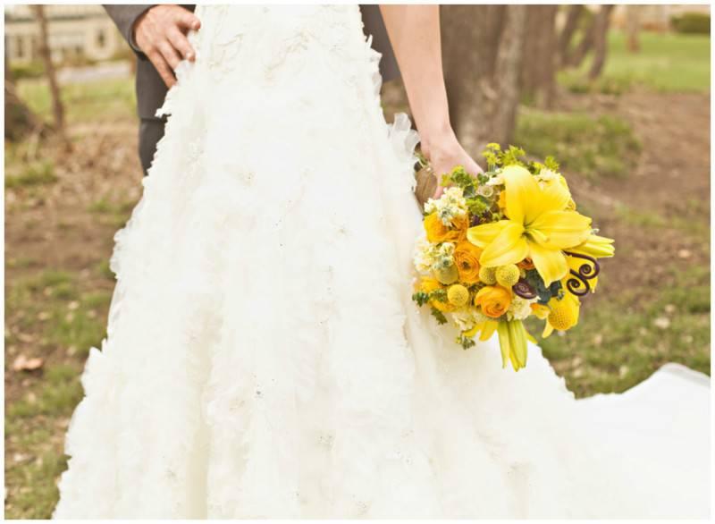 yellow-wedding-bouquet