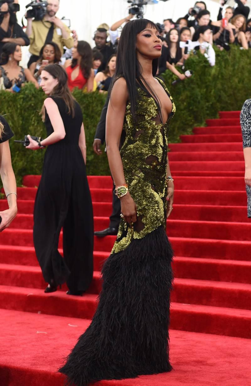 Festival di Sanremo, Naomi Campbell non sarà ospite all'Ariston (Getty Images)