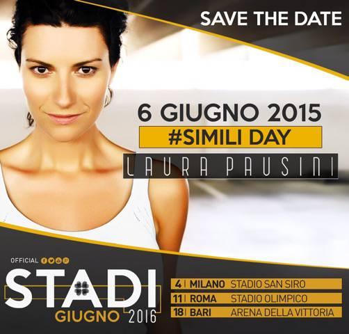 Laura Pausini #SIMILI DAY 6 giugno 2015