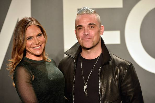 Robbie Williams e Ayda Fields@Getty images