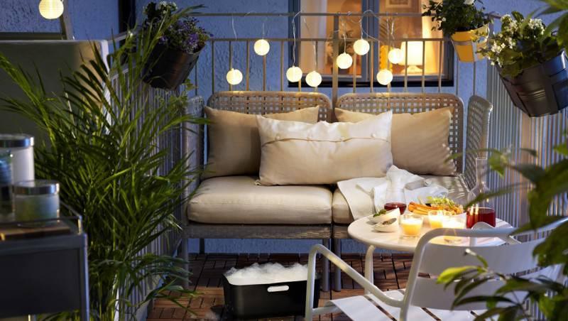 Come arredare con stile i piccoli balconi - Arredare balconi e terrazzi ...