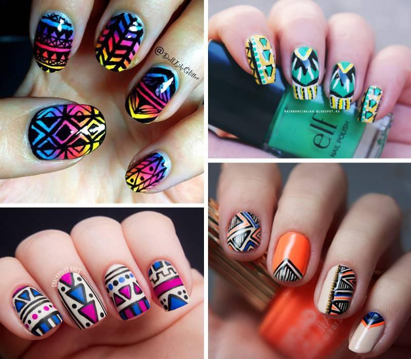 manicure_monday_tribal_nails