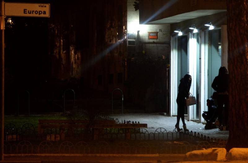 Prostitute a Roma (FILIPPO MONTEFORTE/AFP/Getty Images)
