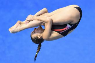 Tania Cagnotto (TOBIAS SCHWARZ/AFP/Getty Images)