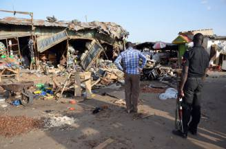 Attentato in Nigeria (STRINGER/AFP/Getty Images)