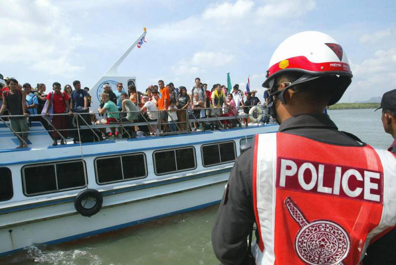 Traghetto con turisti in Indonesia (ROSLAN RAHMAN/AFP/Getty Images)