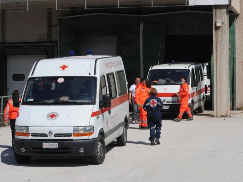 Ambulanza (MARIO LAPORTA/AFP/Getty Images)