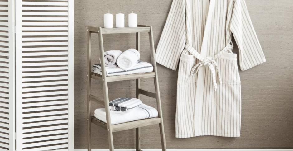 Tutorial: come piegare gli asciugamani e gli accappatoi