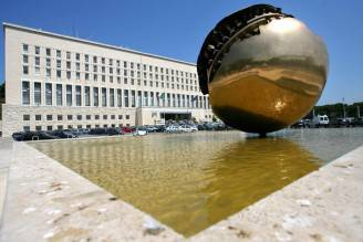 Farnesina, sede del Ministero degli Esteri (FILIPPO MONTEFORTE/AFP/Getty Images)
