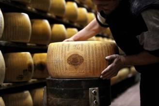 Parmigiano Reggiano (FILIPPO MONTEFORTE/AFP/Getty Images)
