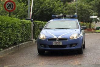 Auto polizia (STR/AFP/GettyImages)