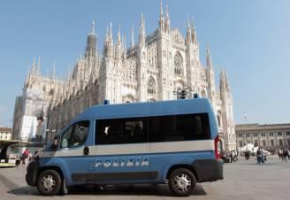 Polizia a Milano (Vittorio Zunino Celotto/Getty Images)