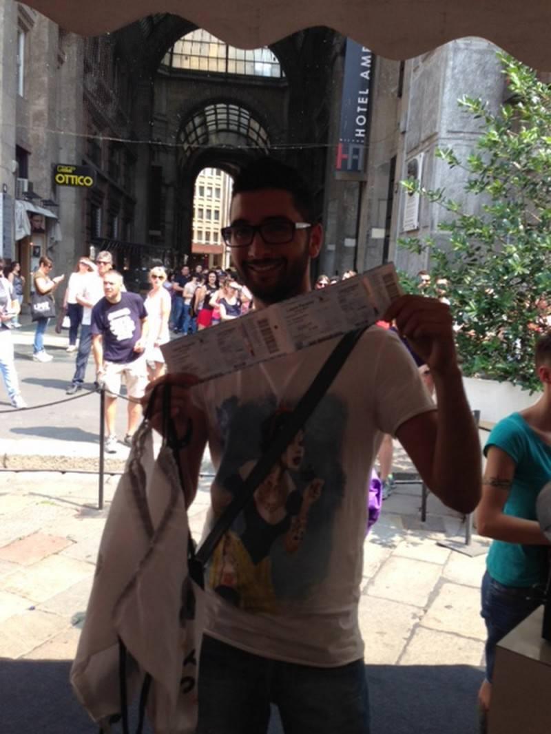 primo biglietto venduto Milano