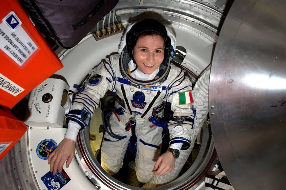 Samantha Cristoforetti (Foto ESA/NASA)