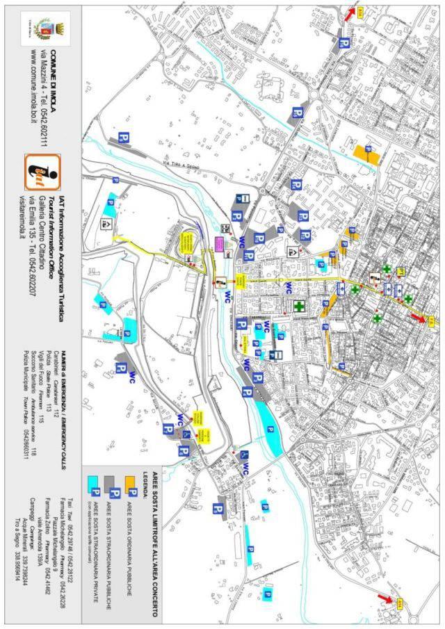 Comune di Imola_mappa parcheggi_b