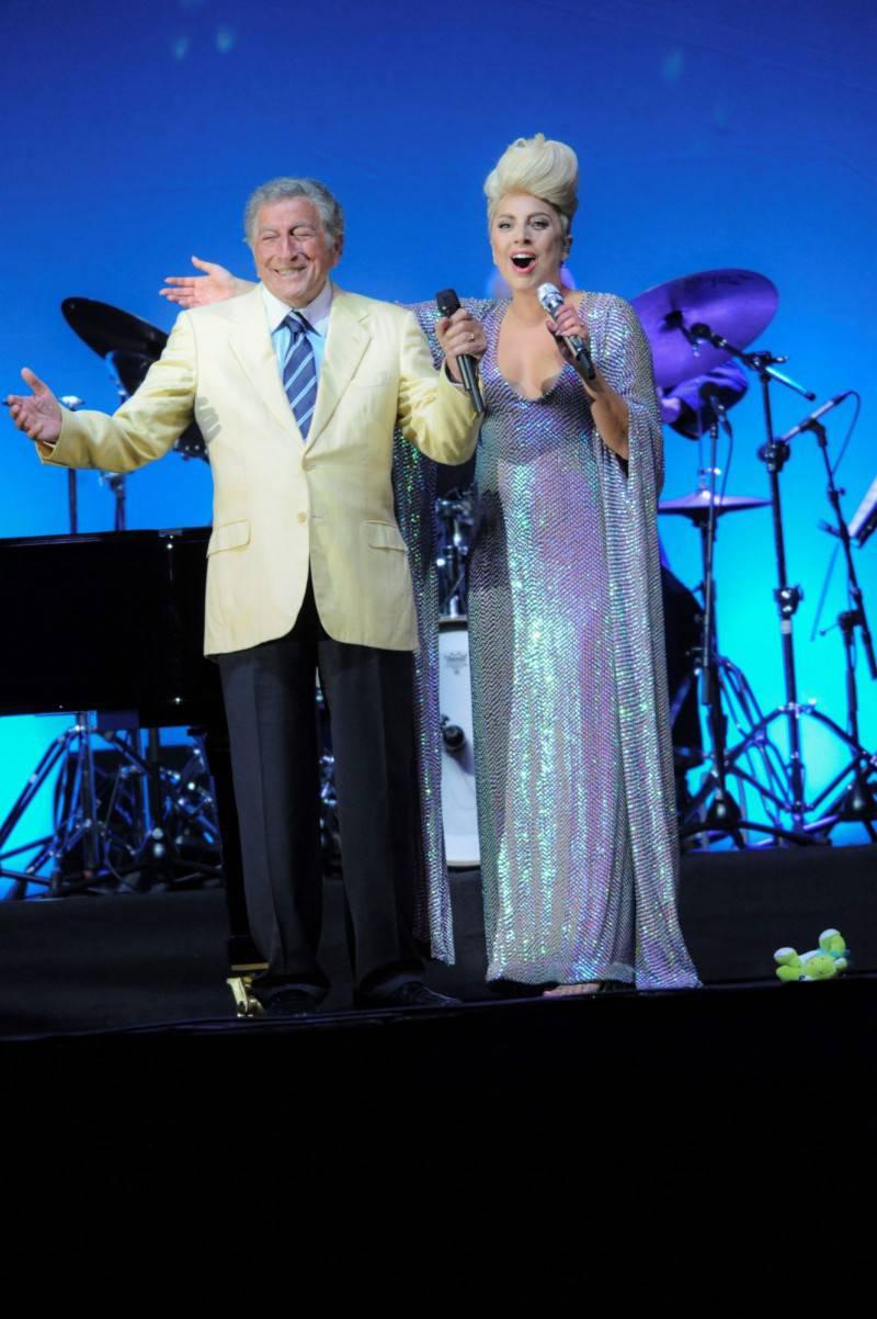 UJ15_Tony Bennett&Lady Gaga_1_foto di Giancarlo Belfiore-Umbria Jazz_m