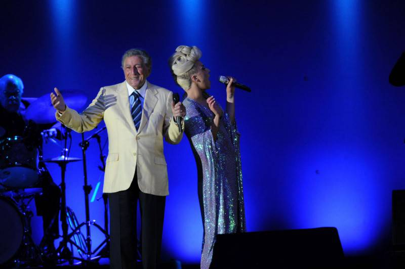 UJ15_Tony Bennett&Lady Gaga_2_foto di Giancarlo Belfiore-Umbria Jazz_m