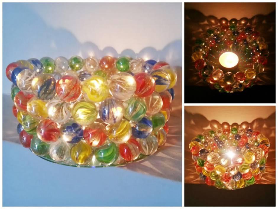Molto Come realizzare dei porta candele con le biglie di vetro PJ63