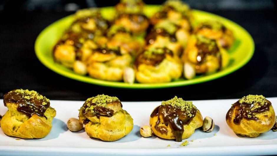 bigne-pistacchio