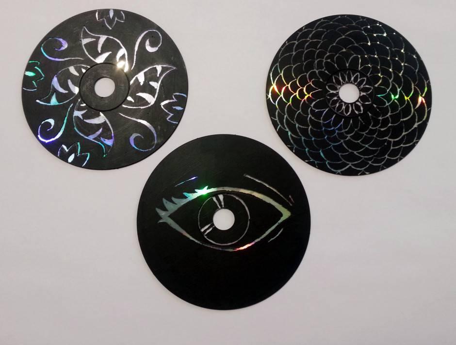 Come realizzare delle opere d 39 arte fai da te con i cd for Arte del riciclo fai da te