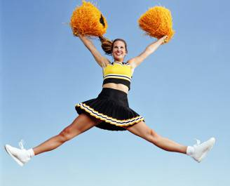 Cheerleader (Thinkstock)