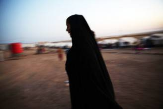 Donna in Iraq (Spencer Platt/Getty Images)