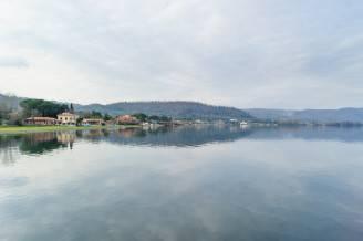 View of lake of bracciano
