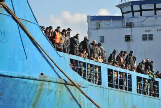 Migranti (ALFONSO DI VINCENZO/AFP/Getty Images)