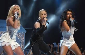 Britney Spears, Madonna e Christina Aguilera (Frank Micelotta/Getty Images)