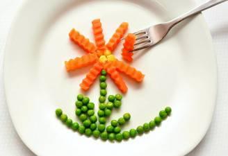 Piatto di verdure (Pixabay)