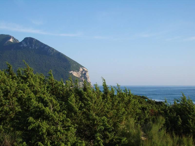 Monte Circeo, Panorama (Foto di Egnoka, da Wikicommons. Pubblico Dominio)
