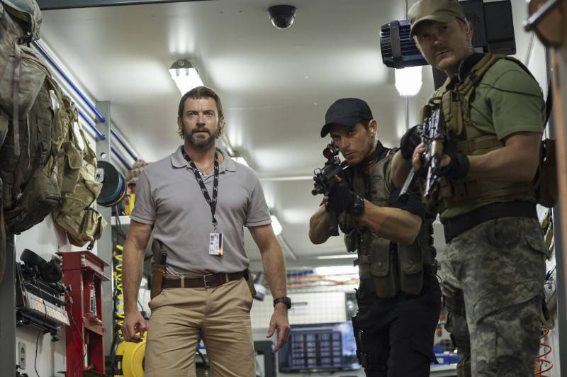 Hugh Jackman stars in Columbia Pictures' CHAPPIE.