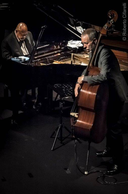 Kenny Barron Dave Holland  (photo C Roberto Cifarelli)