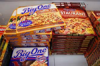 Pizza surgelata (Foto web)