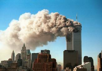 Attentato alle Torri Gemelle a New York, 11 settembre 2001 (Robert Giroux/Getty Images)