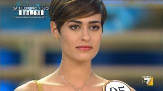 Alice Sabatini, Miss Italia 2015 (screenshot)