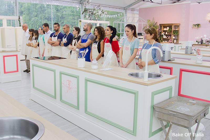 Bake Off Italia, concorrenti (sito web ufficiale)