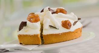 La torta Montblanc di Bake Off Italia (Foto sito uffciale)