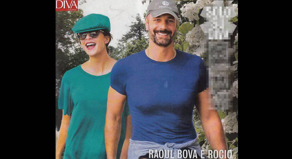 Raoul Bova e Rocio Munoz Morales (Foto Diva e Donna)