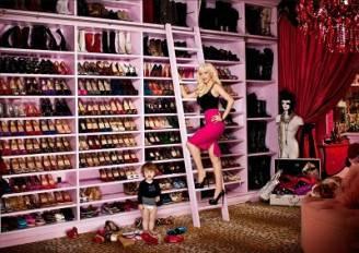 La cabina armadio di Christina Aguilera